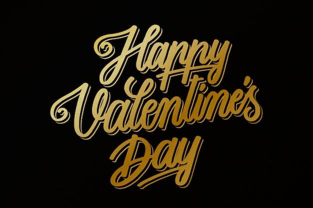 Goldene valentinstag-tapete