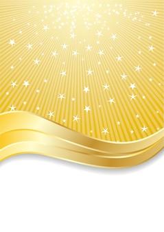 Goldener abstrakter hintergrund der clipart