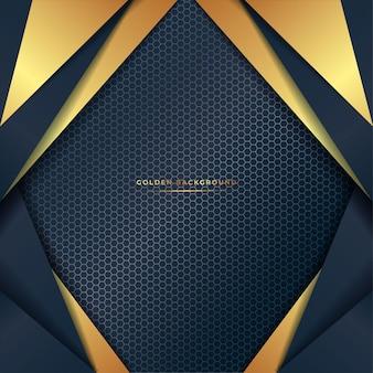 Goldener abstrakter hintergrund
