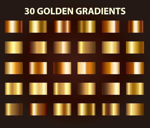 Goldener farbverlauf