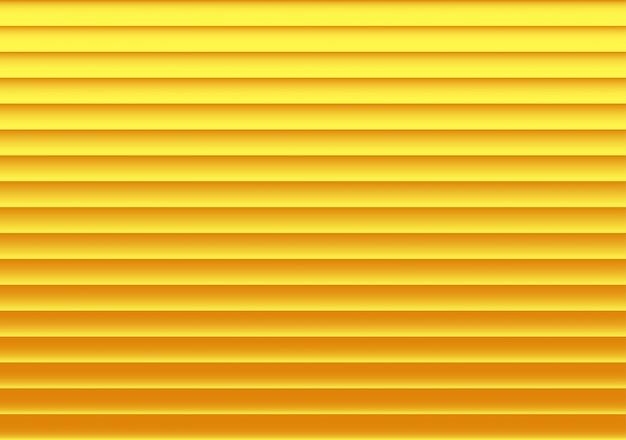 Goldener gestreifter hintergrund mit schatten