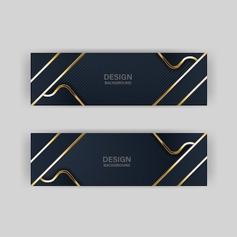 Goldener luxus der goldfahne heller farbhintergrundhintergrund
