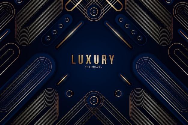 Goldener luxushintergrund