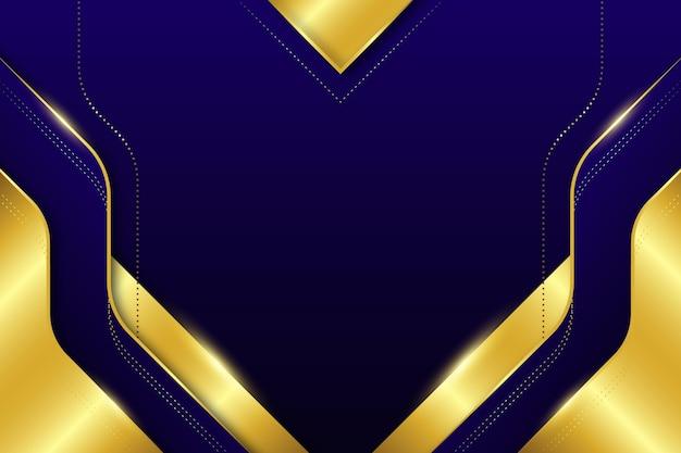 Goldener luxushintergrund Kostenlosen Vektoren