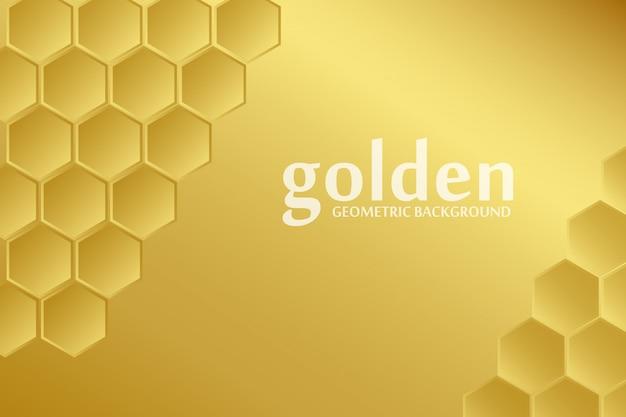Goldener muster-hintergrund