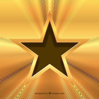 Goldener sternhintergrund