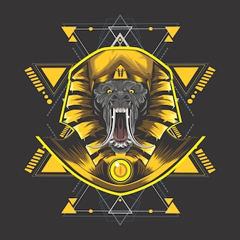Goldenes ägypten kong