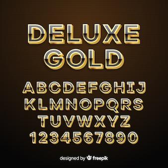 Goldenes alphabet