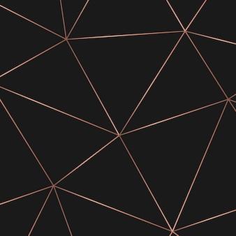 Goldenes geometrisches abstraktes muster. vorlage für geburtstag, hochzeit, jubiläum, visitenkarten-design