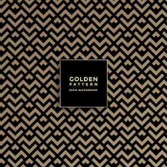 Goldenes geometrisches luxusmuster, abstrakter musterhintergrund