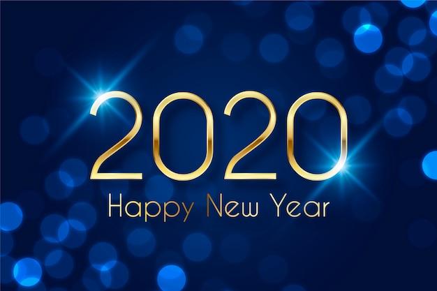 Goldenes guten rutsch ins neue jahr 2020