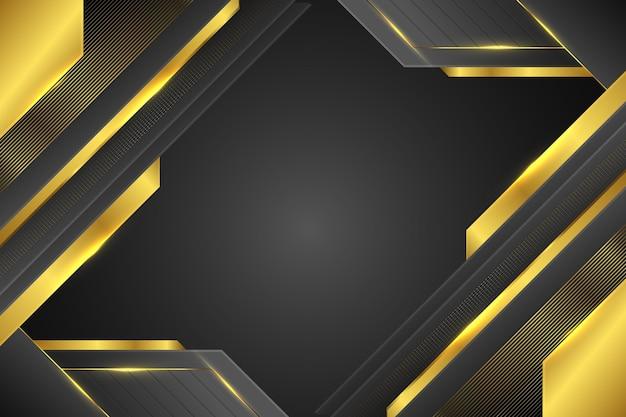 Goldenes hintergrunddesign mit farbverlauf