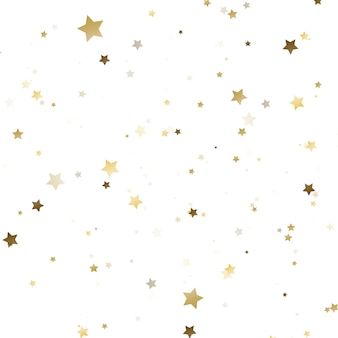 Goldenes konfetti