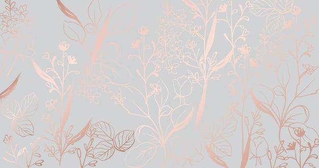 Goldenes marmormuster der weinlese