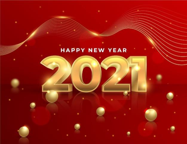 Neues Jahr Wünsche 2021