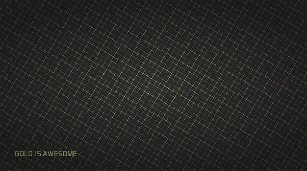 Goldfunkeln auf schwarzem hintergrund
