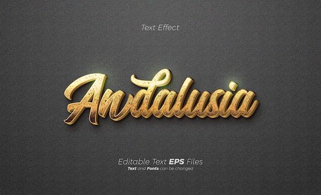Goldglitter glänzender texteffekt luxus