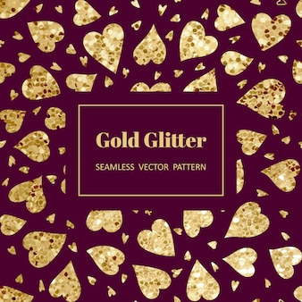 Goldherzmuster