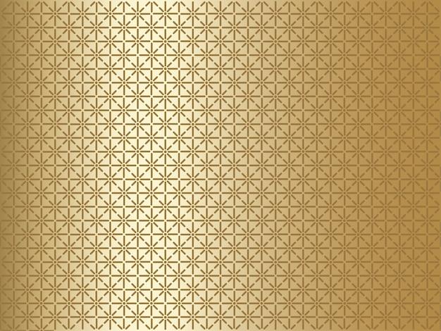 Goldhintergrund mit geometrischem muster