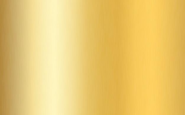 Goldmetallischer farbverlauf mit kratzern. oberflächeneffekt der goldfolienoberfläche.