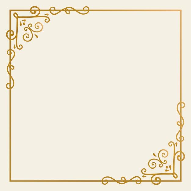 Goldrahmenhintergrund