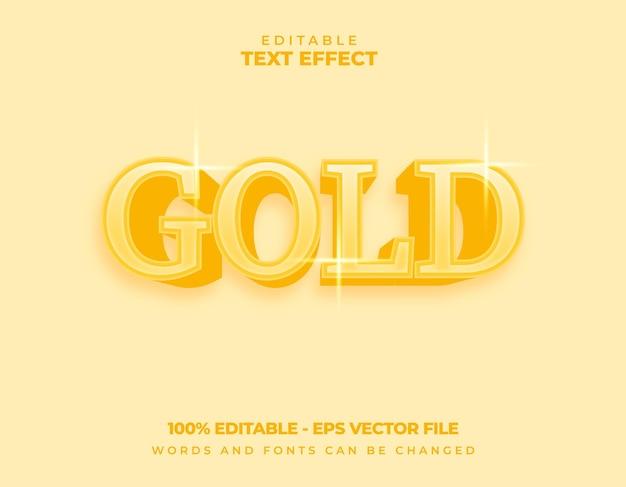 Goldschrifttext-effekt