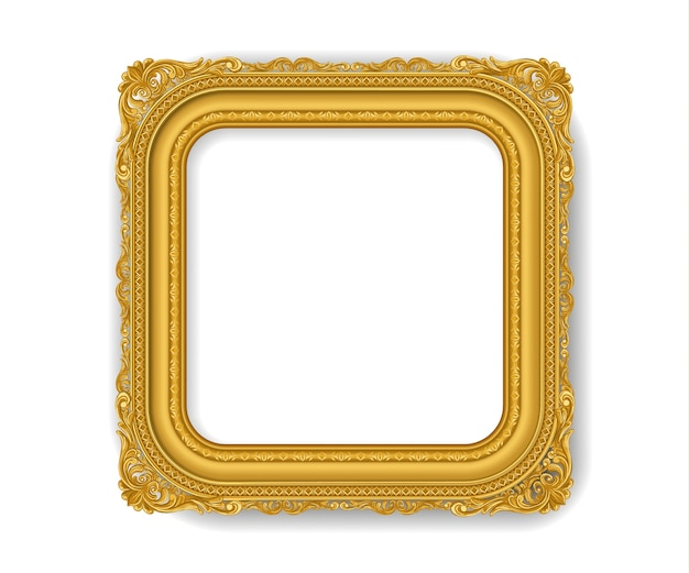 Goldvintace-bilderrahmen