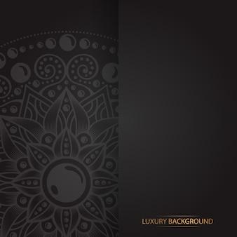 Goldweinlesegrußkarte auf einem schwarzen hintergrund