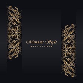 Goldweinlesegrußkarten-schwarzhintergrund