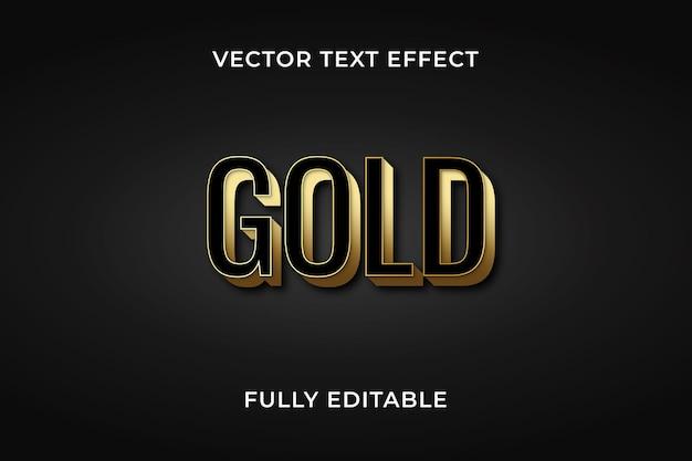Gole-text-effekt