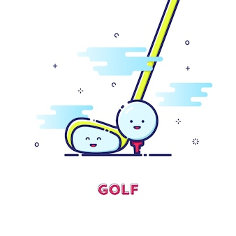 Golf abbildung