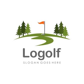 Golf-logo-design-vorlage