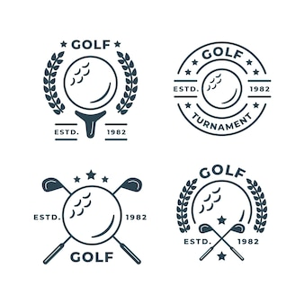 Golf logo kollektion