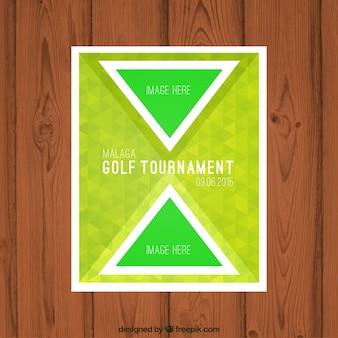 Golf-turnier-broschüre