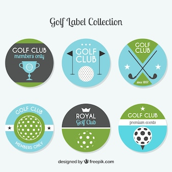 Golfabzeichensammlung