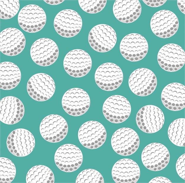 Golfclub-sportspielgraphik
