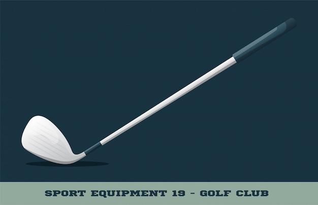 Golfschläger-symbol