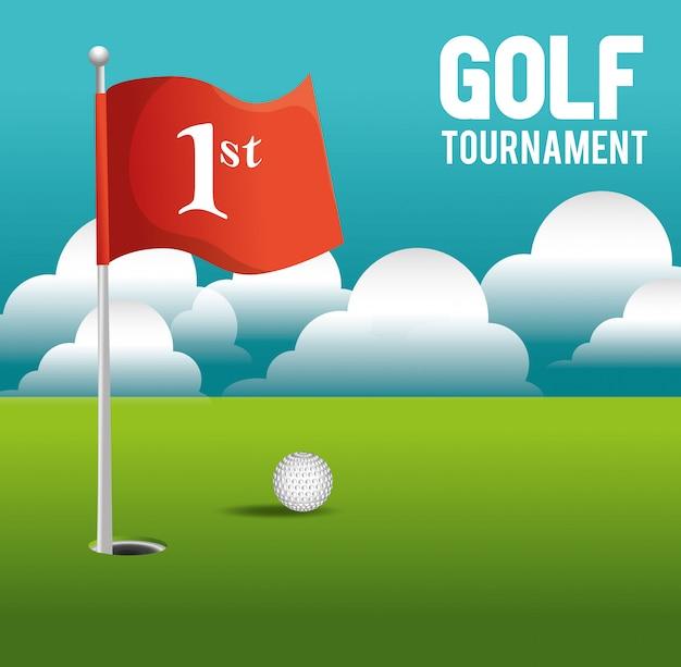 Golfturnier design