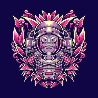Gorilla astronout