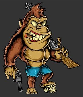Gorilla charakter