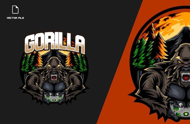 Gorilla esports gaming-logo