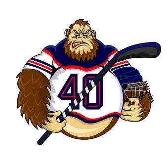 Gorilla hockey