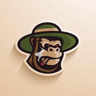 Gorilla hut zigarre logo