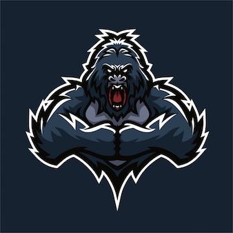 Gorilla logo vorlage