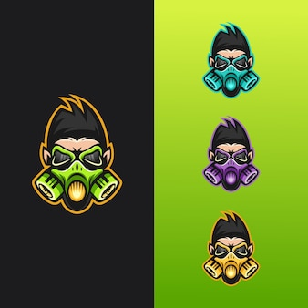 Gorilla mask-logo