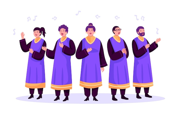 Gospelchor singen