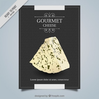 Gourmet-käse plakat