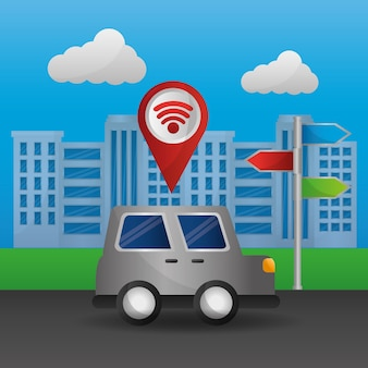 Gps-navigationsanwendung