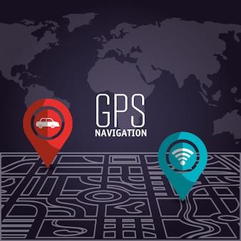 Gps-navigationstechnologie