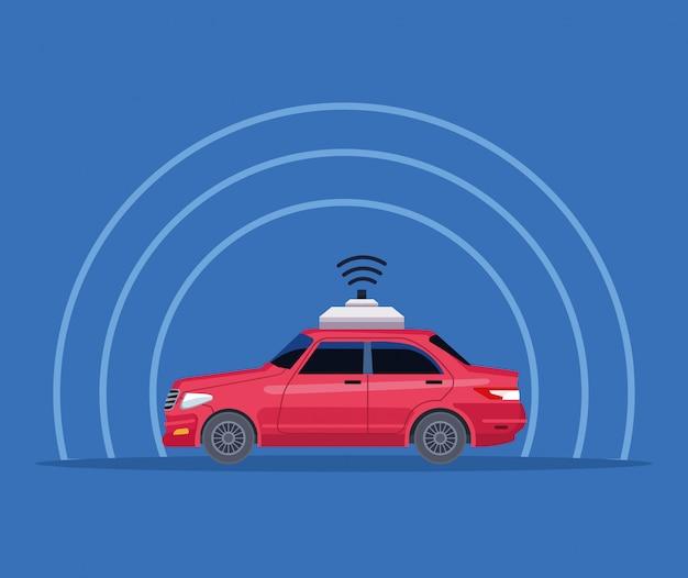 Gps-standort autoservice